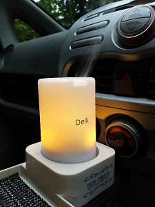 クーラーの乾燥対策♡車の中でもアロマを満喫.+:。 ヾ(◎´∀`◎)ノ 。:+.ドリンクホルダーにすっぽり♪♪