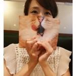 オススメのヨガ本♡ 本に可愛いカバーかけてみました.+:。 ヾ(◎´∀`◎)ノ 。:+.
