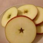 『横切りりんご』で皮ごと食べれちゃう♡