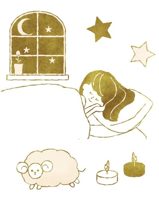 熟睡の秘訣②音楽&アロマ