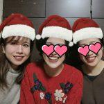 三姉妹❤クリスマスに集合🎄🎅🎁yuko画伯の似顔絵(父母)🎨