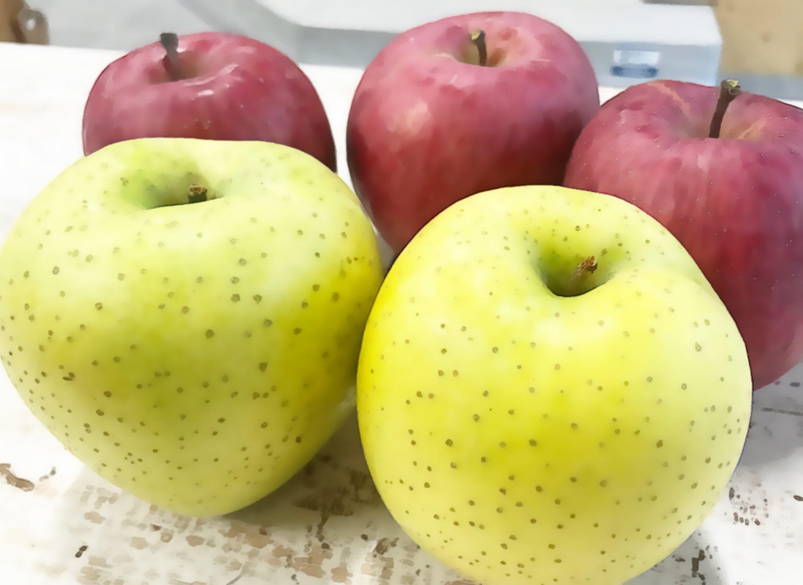 ホットりんごで心もほっ♪